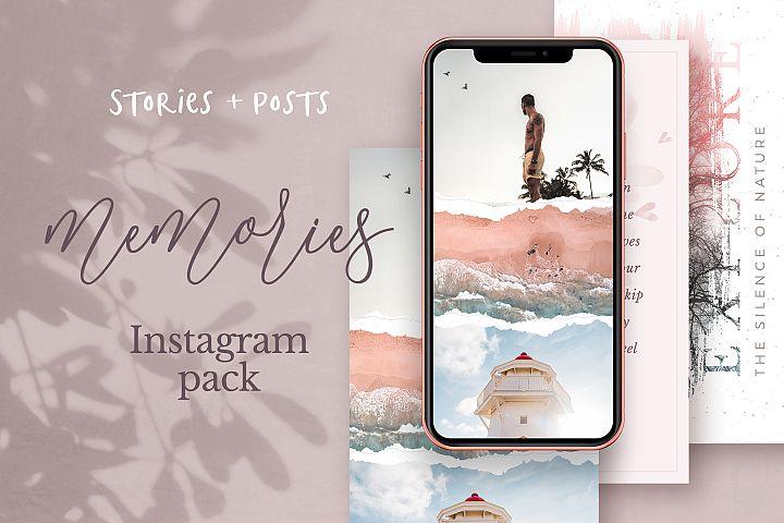 Memories Instagram Pack