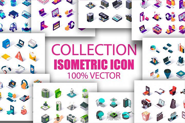 Bundle Premium Isometric Icons