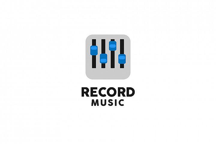 Music Record Logo