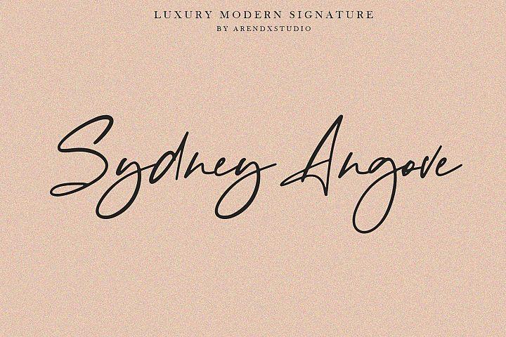 Baekrajan Luxury Modern Signature example image 7