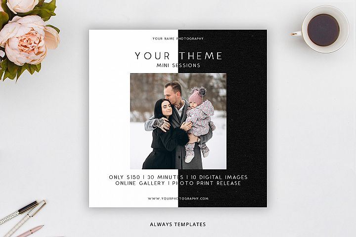 Photography Mini Session Template PM041