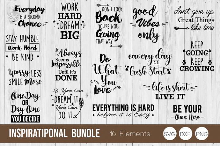 inspirational Bundle SVG