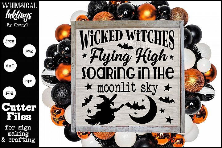 Wicked Witches-Halloween SVG