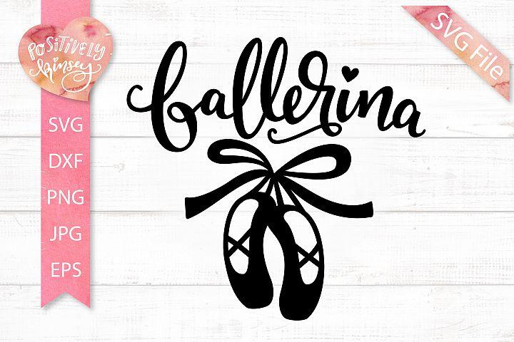 Ballerina SVG DXF PNG EPS JPG, Dance SVG, Ballet SVG, Dancer