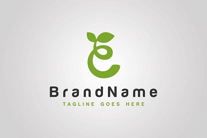 Eco Letter Logo Template