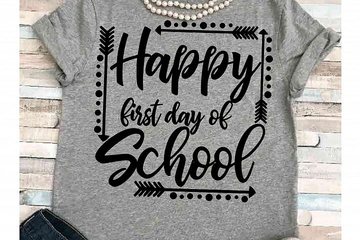 Teacher svg SVG DXF JPEG Silhouette Cameo Cricut student svg iron on First day of school  summer svg first day
