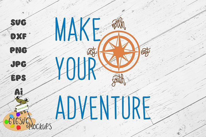 Make Your Adventure SVG