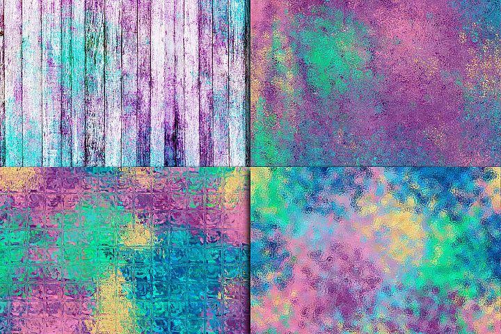 Mermaid Textures Digital Paper - Free Design of The Week Design 2
