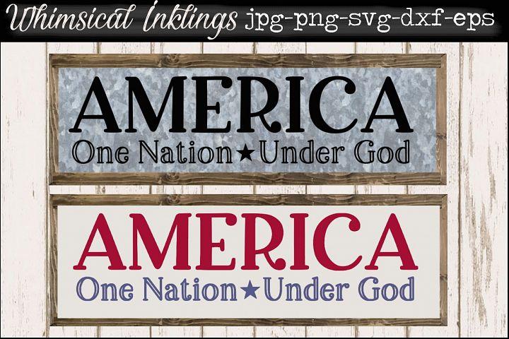 America SVG