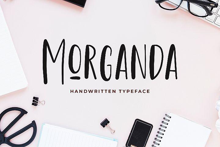 Morganda Handwritten Font