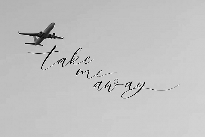 Sky Opera. A Handwritten Script Font example image 3