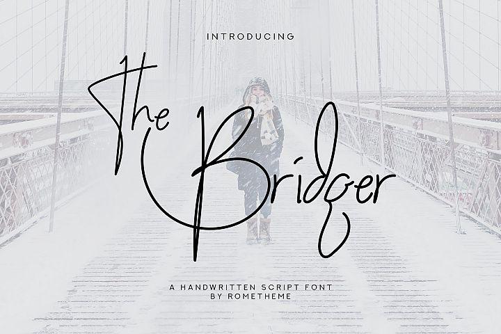 The Bridger - Script Font