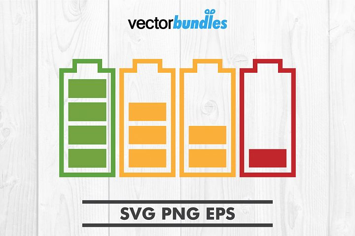 Battery clip art svg