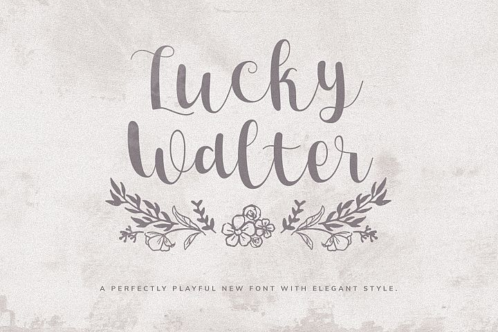 Lucky Walter - Elegant Style Font!