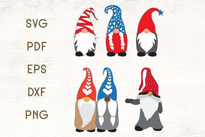 Christmas Gnomes SVG - Vector