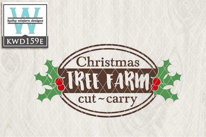 Christmas SVG - Christmas Tree Farm KWD159E