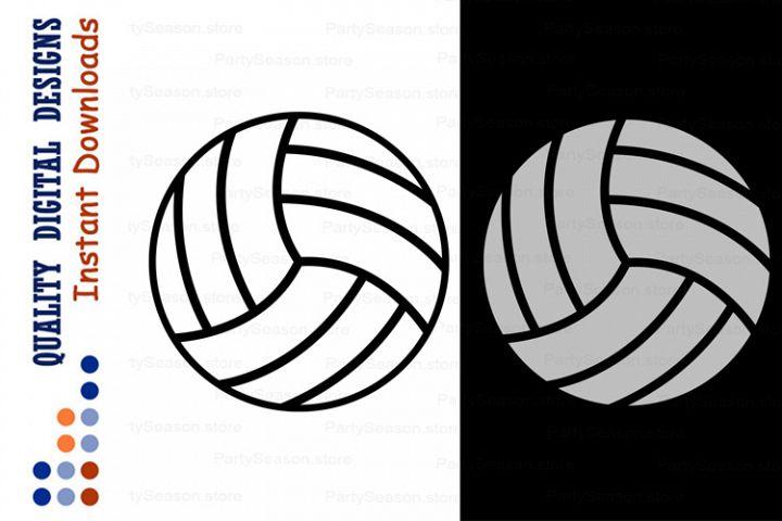 Volleyball ball svg