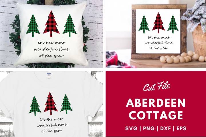 Its The Most Wonderful Time of The Year - Christmas SVG