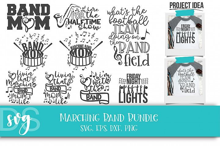 Drum Major, Marching Band, School Band, SVG, PNG, DXF, EPS