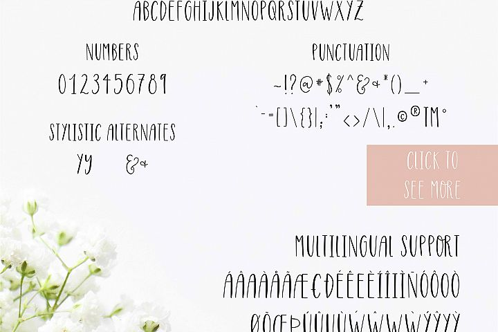 Highwaisted All Caps Skinny Font - Free Font of The Week Design6
