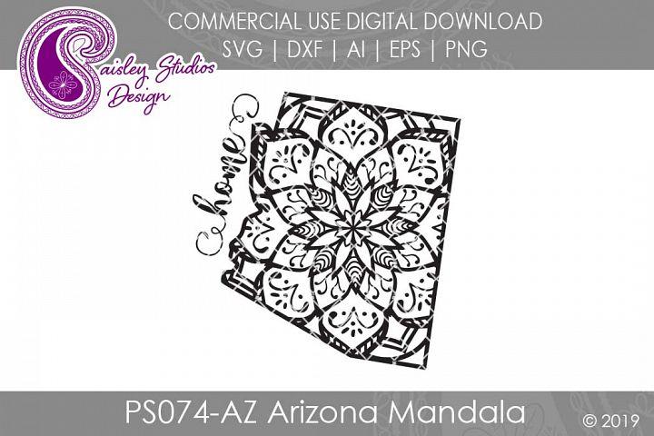 Mandala Arizona Home SVG DXF Ai EPS PNG
