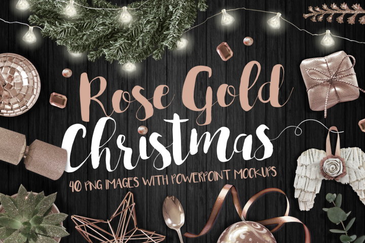 Rose Gold Christmas