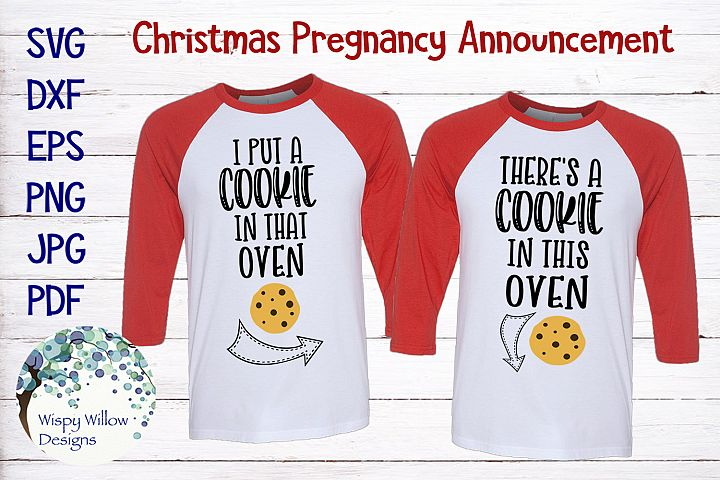 Christmas Pregnancy Announcement | Maternity Shirts SVG