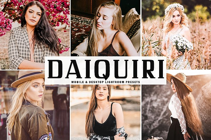 Daiquiri Mobile & Desktop Lightroom Presets