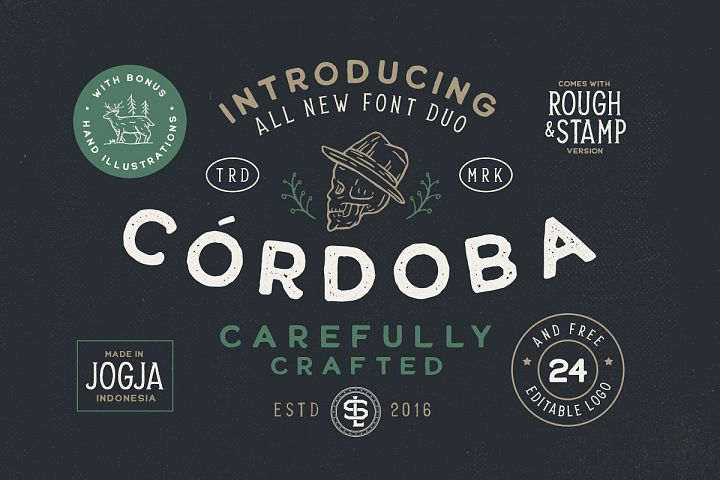 Cordoba - Font Duo EXTRA