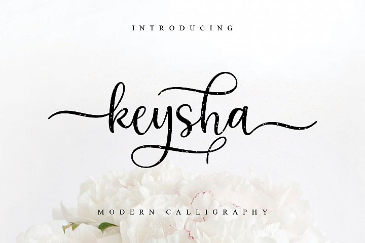 keysha modern calligraphy