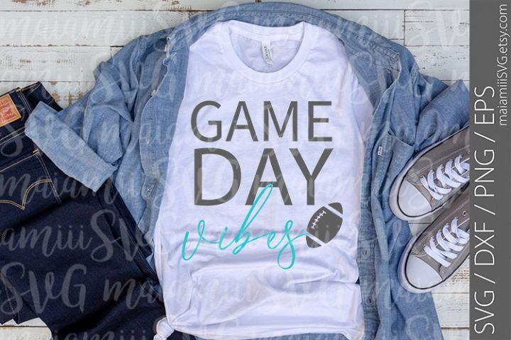 Game Day Vibes Svg, Game Day Svg, Sports Svg, Baseball Svg