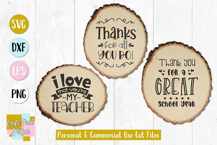 Teacher Appreciation Svg, Teacher Gift Svg, Teacher Love Svg