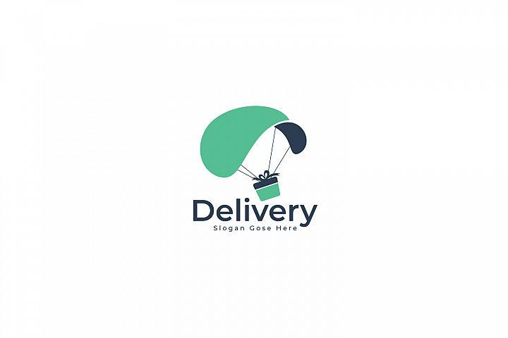 Deliver service logo design.