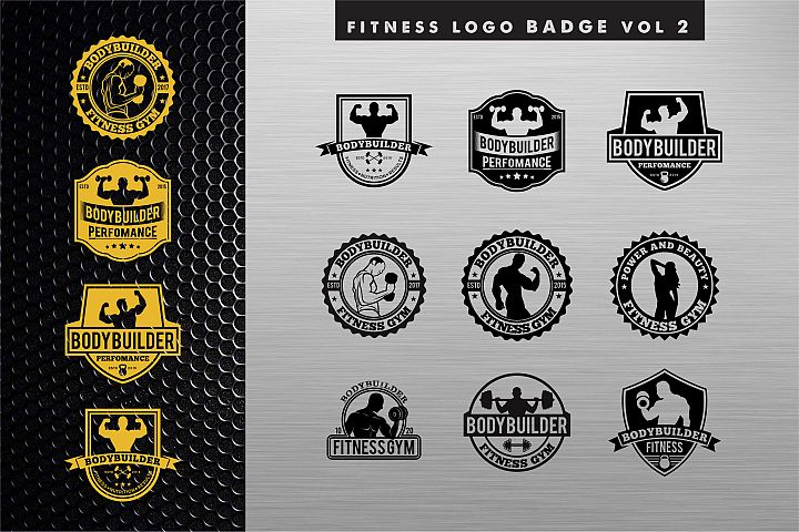 Bodybuilding Gym Logo2