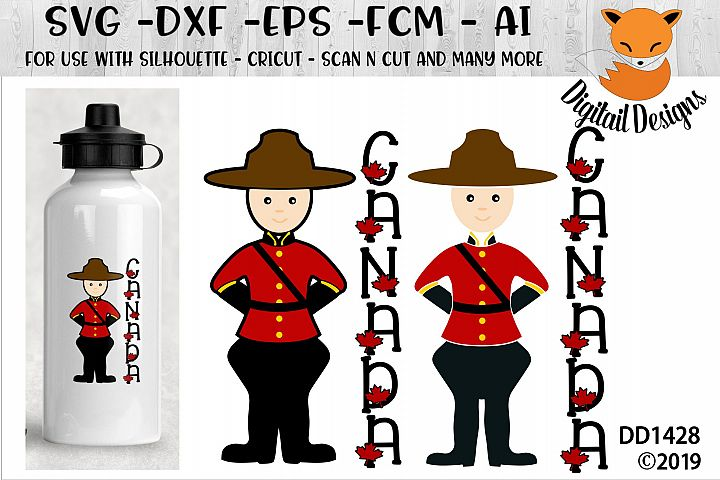 Canadian Police Mountie SVG