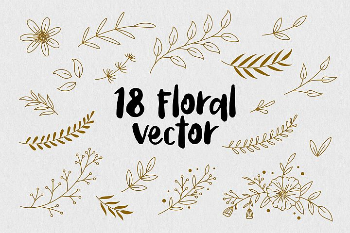 Floral Vector Pack