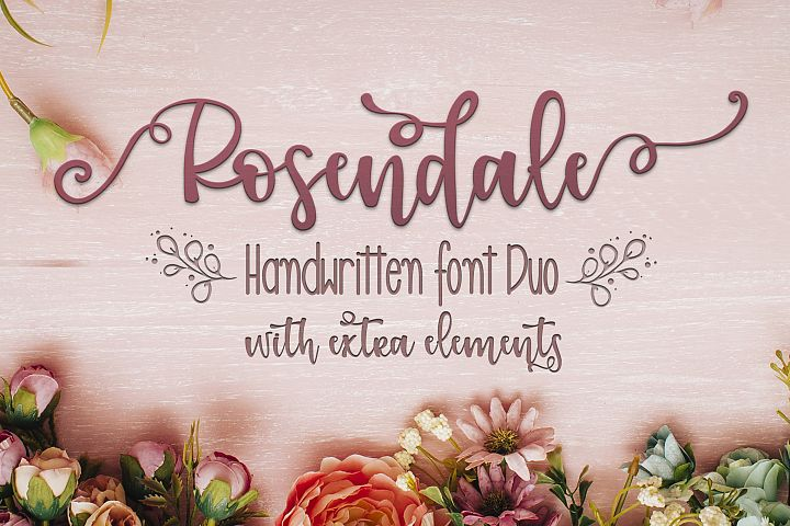 Rosendale Font Duo