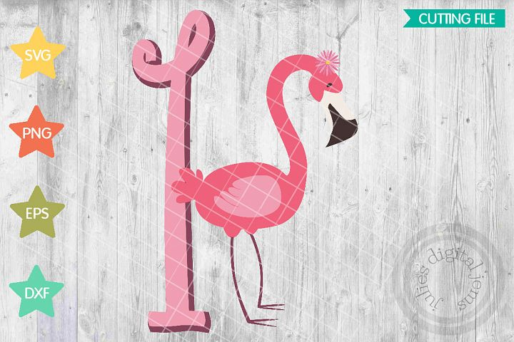 Flamingo birthday, Pink birthday, 1st Birthday SVG