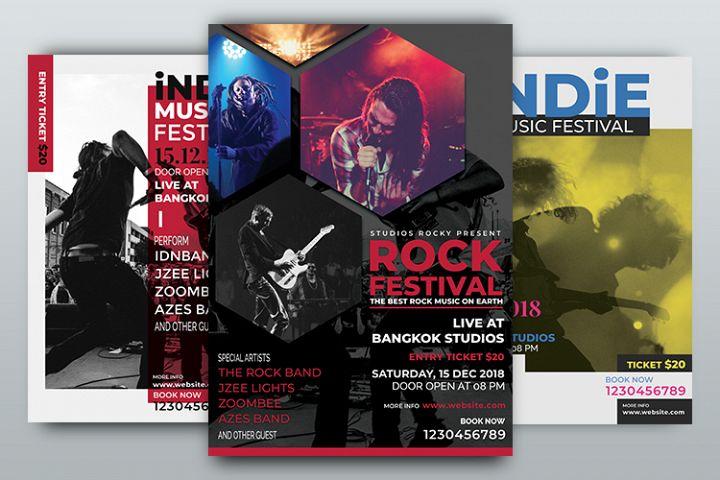 Music Festival Flyer Template