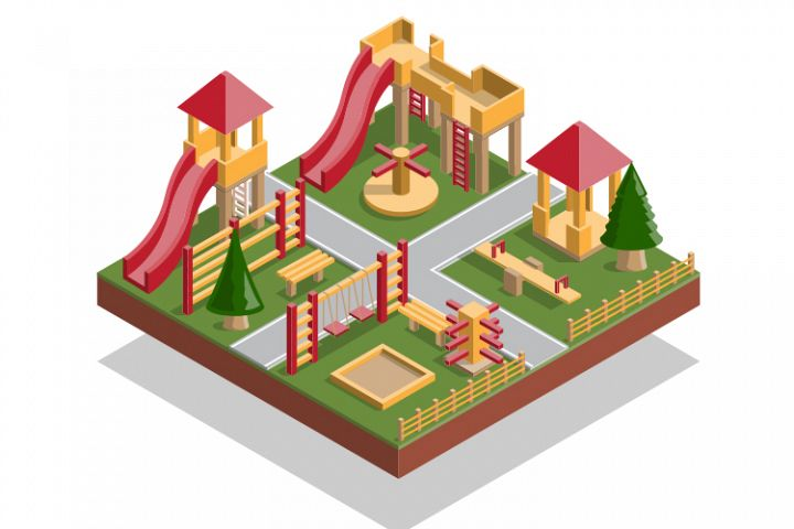 A Set of Playground Elements.