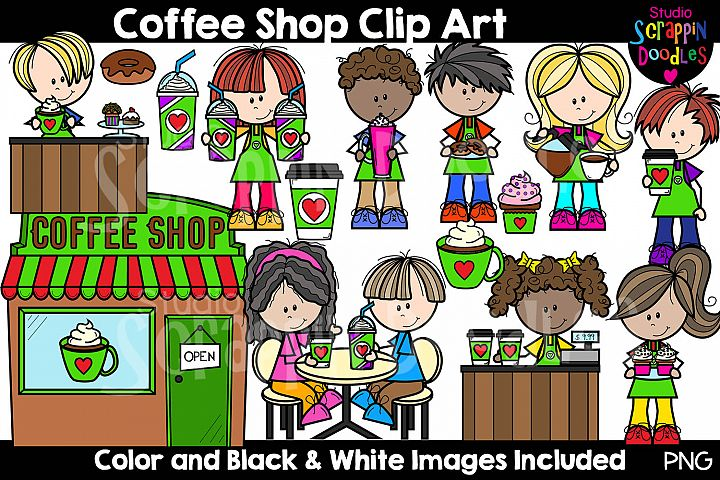 Coffee Shop Clip Art