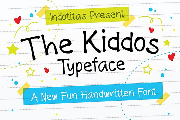 The Kiddos Typeface