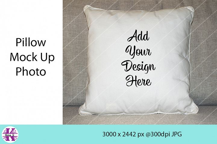 Pillow Mock Up Photo