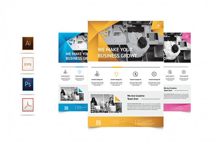 Corporate Business Flyer Vol. 8