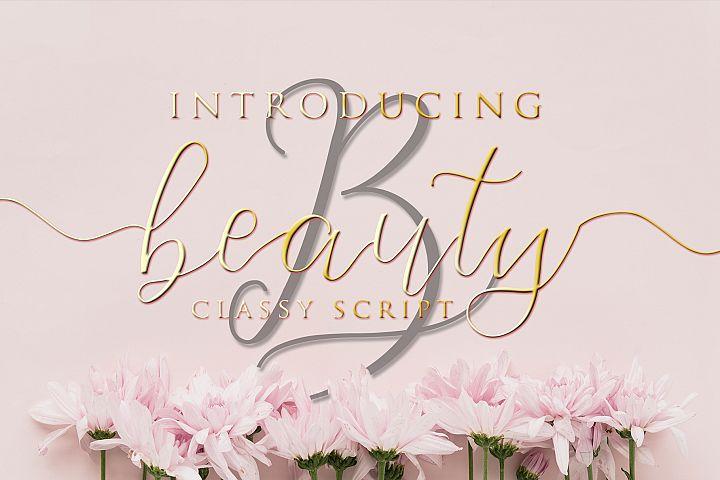 Beauty - Classy Script