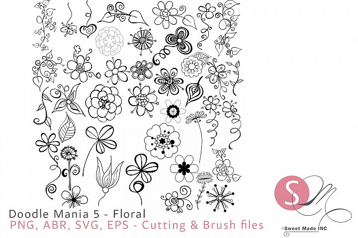 Doodle Mania 5 - Floral