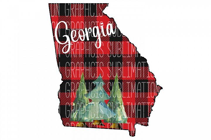 Georgia Plaid Sublimation Digital Download
