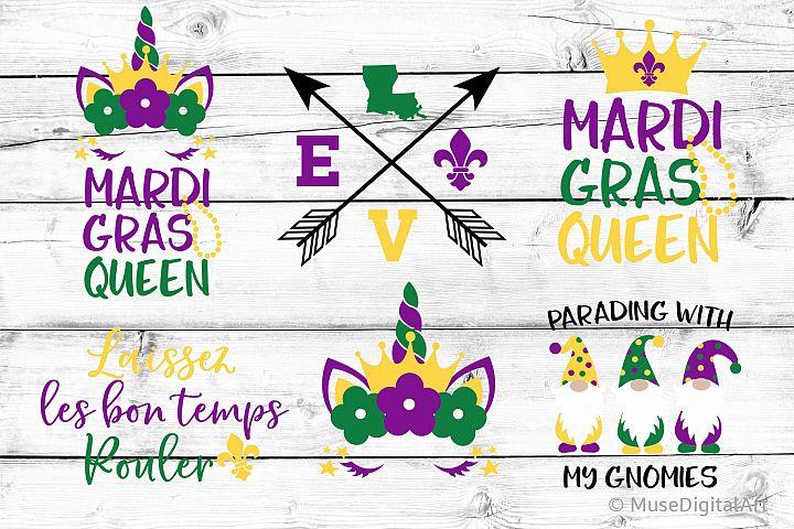 Girl Mardi Gras Svg, Mardi Gras Bundle Svg, Kids Mardi Gras