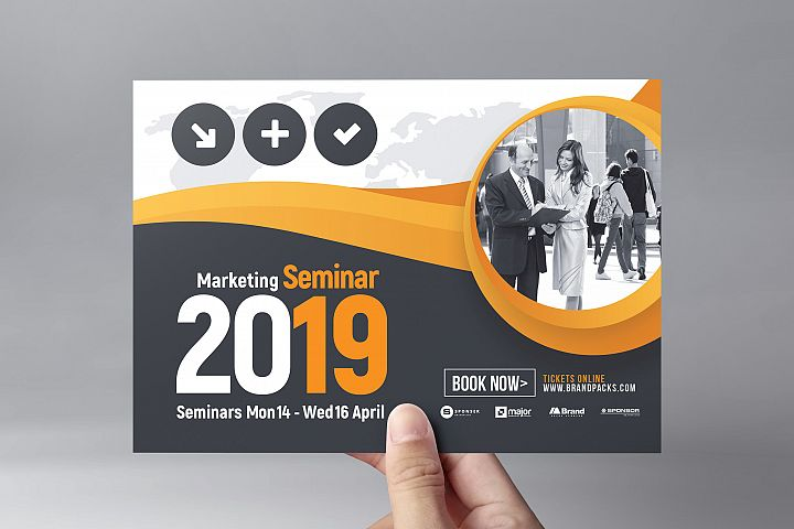 Marketing Seminar Flyer Template example image 2