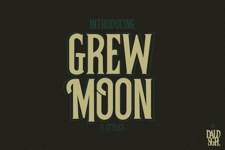 Grewmoon Fonts example image 1